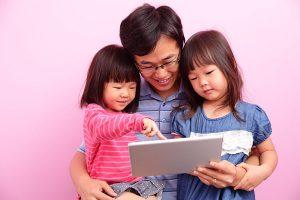 Social media for child care