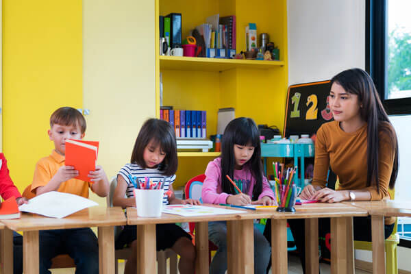 How to become a Room Leader in child care