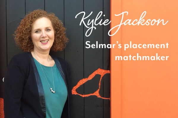 Selmar's placement matchmaker Kylie Jackson