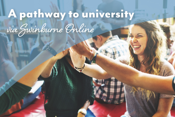 Selmar students gain pathway to University with Swinburne Online