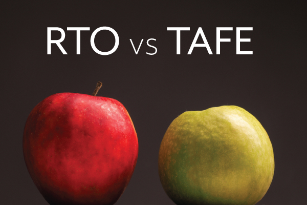 How do you decide between studying at an RTO vs TAFE?