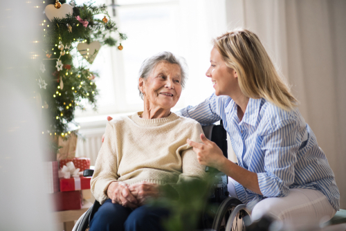 Mindful Christmas in aged care