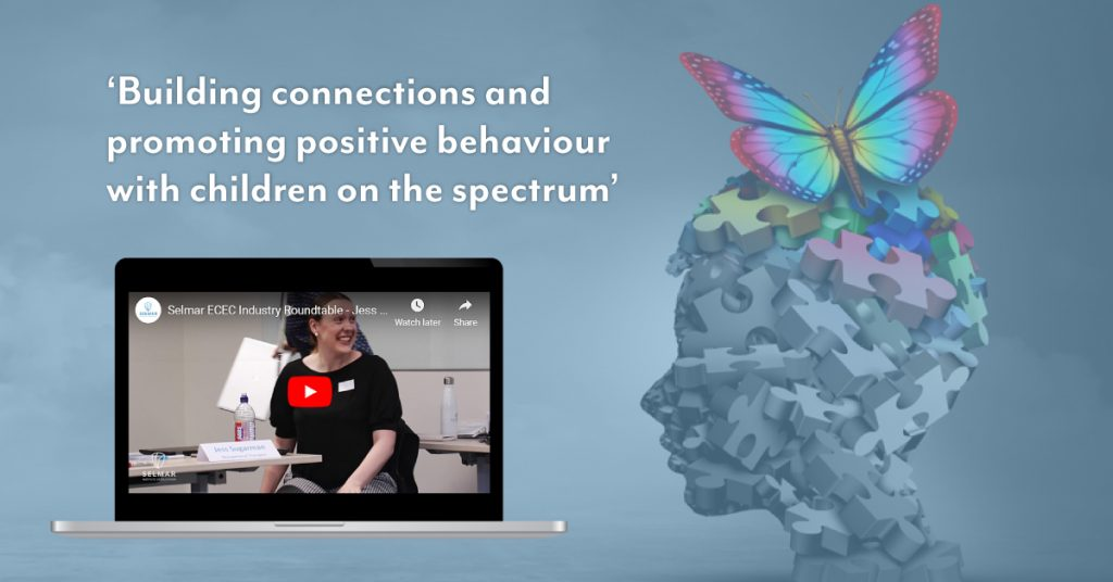 Building connection with children on the spectrum