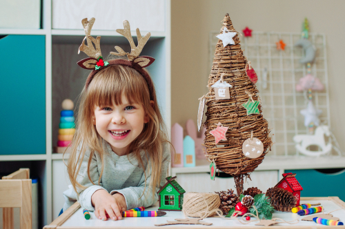 Eco-friendly Christmas activities for children