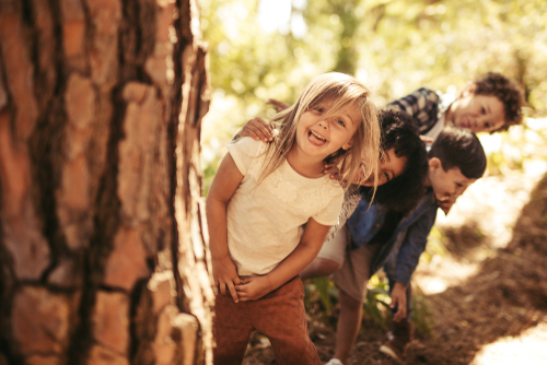 Learning outdoors: the benefits of bush kinder for children