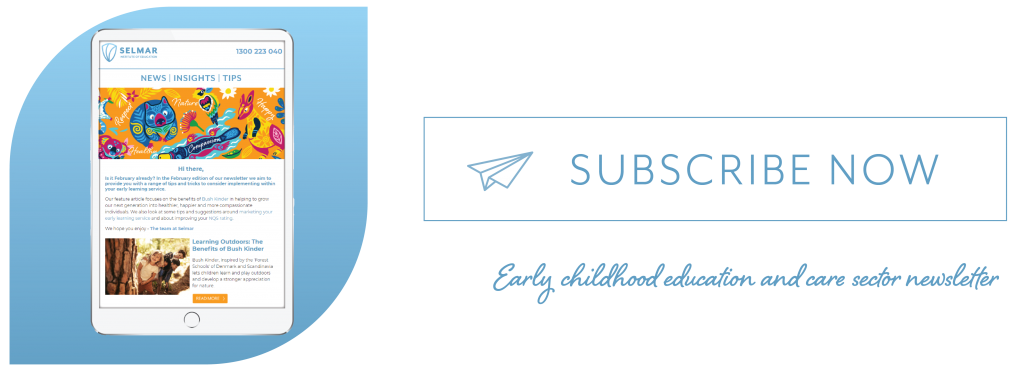 ECEC newsletter-subscribe now