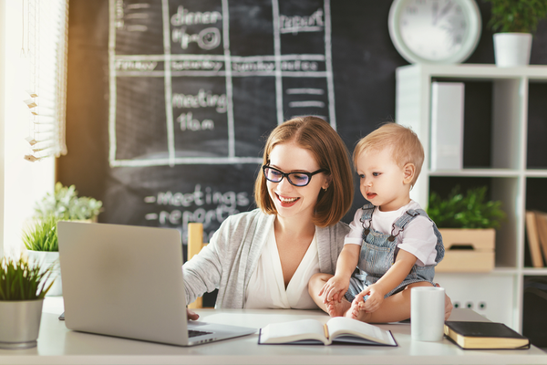 Top tips for working from home with children