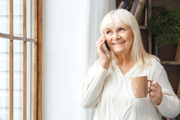 Staying connected & supporting the elderly