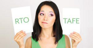 RTOs vs TAFE