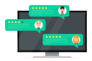 Customer feedback in the form of online reviews