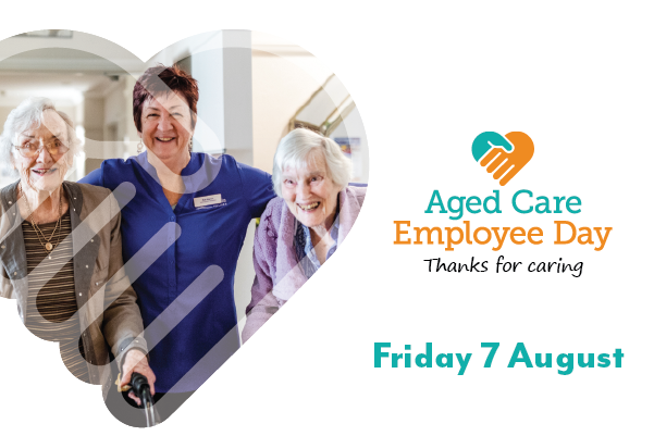 Saying thanks on Aged Care Employee Day