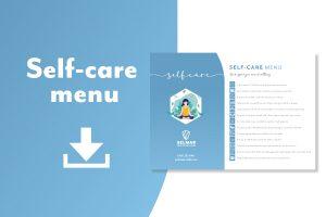 Self-care checklist download