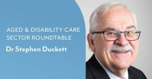 aged care sector roundtable