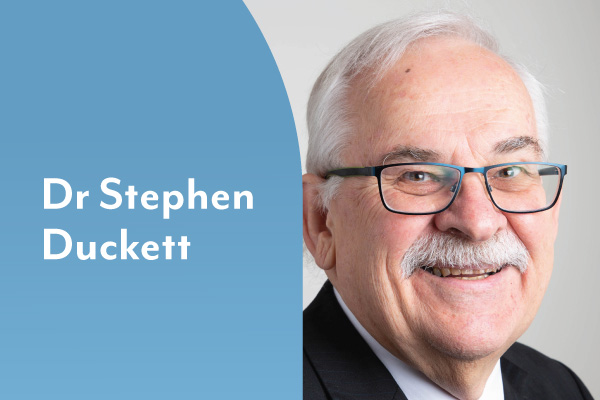Re-thinking aged care with Dr Stephen Duckett