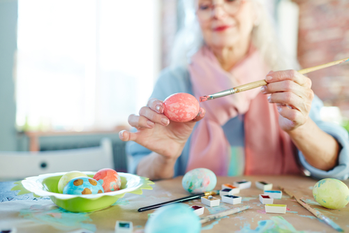Celebrating Easter in aged care facilities