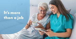 More than a job