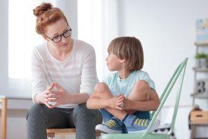 Helping children with change
